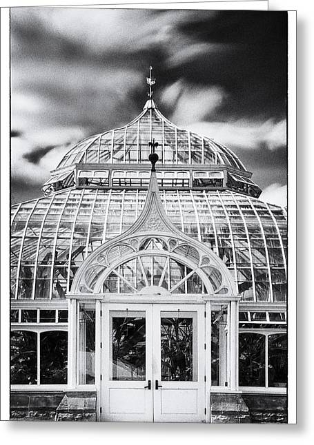Phipps Conservatory II Greeting Card by Robert Fawcett