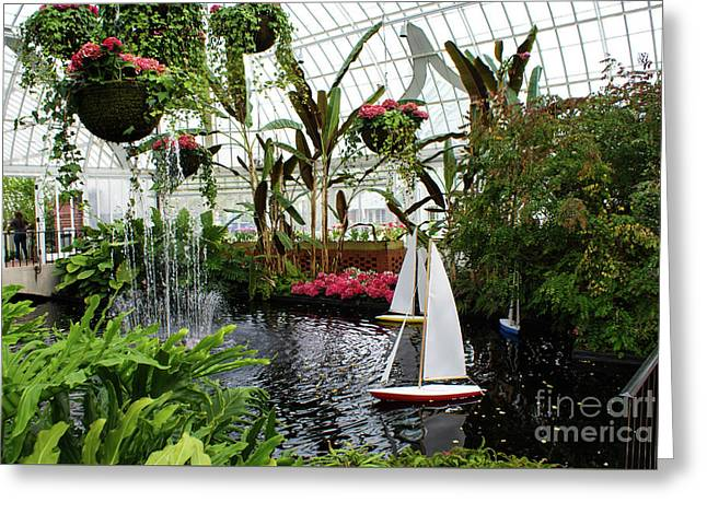 Phipps Conservatory No. 1 Greeting Card by Kevin Gladwell