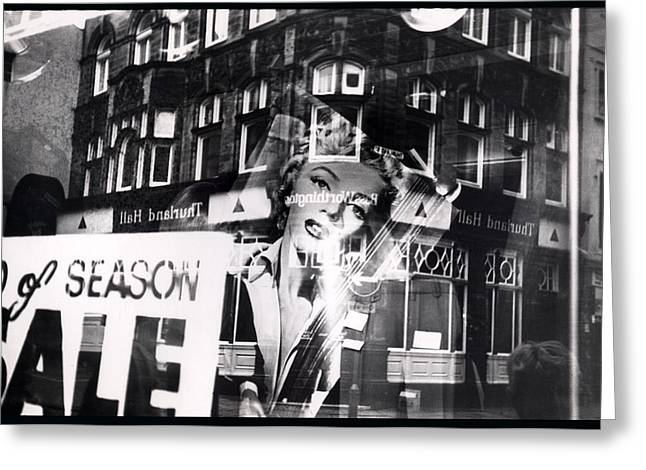 Photograph Of Marilyn Greeting Card by Charles Stuart