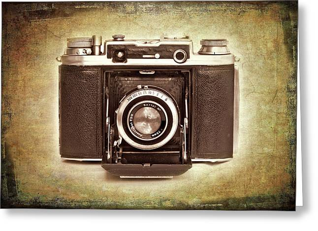 Photographer's Nostalgia Greeting Card by Meirion Matthias