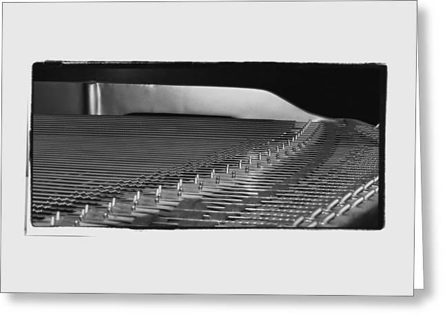 Charlotte Greeting Cards - Piano Ways Greeting Card by Morgan Carter