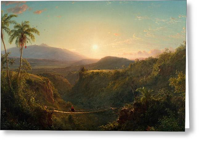 Pichincha Greeting Card by Frederic Edwin Church