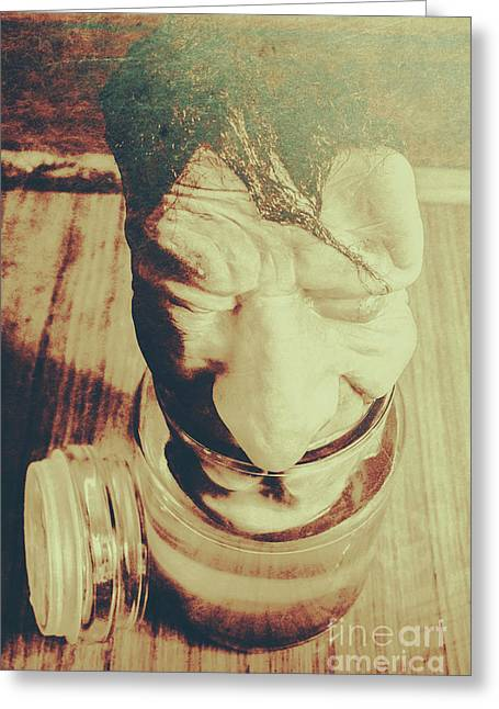 Pickle Me Grandfather Greeting Card by Jorgo Photography - Wall Art Gallery