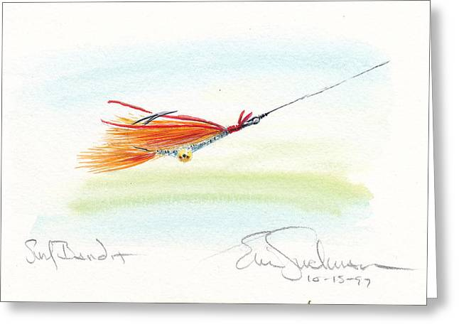 Prowler Paintings Greeting Cards - Piconi Surf Prowler Greeting Card by Eric Suchman
