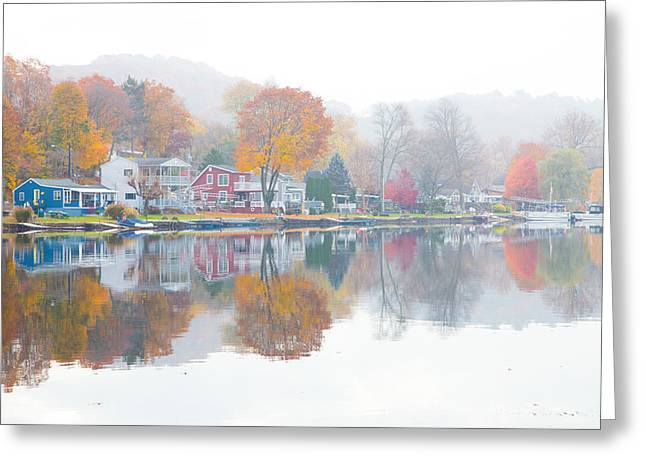 Picturesque Autumn Greeting Card by Karol Livote