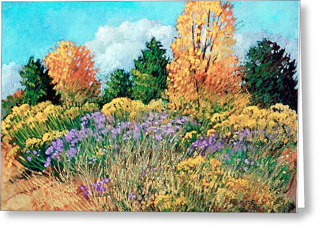 Picuris Greeting Card by Donna Clair