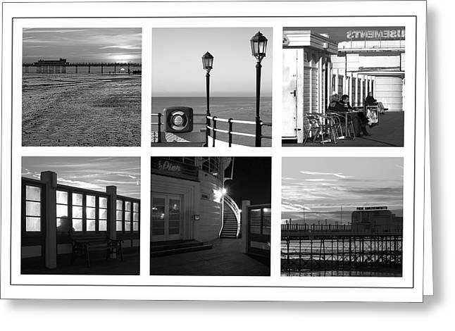 Pier Moods Greeting Card by Hazy Apple