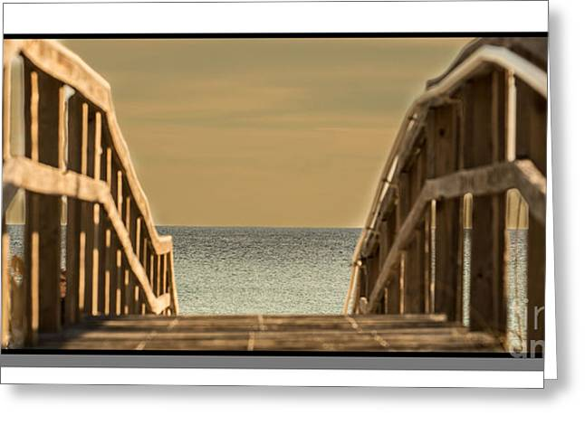 View Tapestries - Textiles Greeting Cards - Pier One Greeting Card by James Hennis