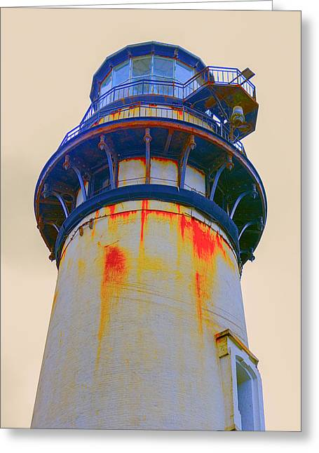 Half Moon Bay Greeting Cards - Pigeon Point Light House Greeting Card by Doug Holck