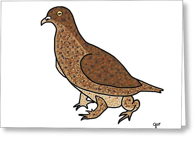 Morph Greeting Cards - Pigeon Toad Greeting Card by George Wachob