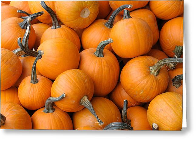 Farm Stand Greeting Cards - Pile of pumkins Greeting Card by Bradford Martin