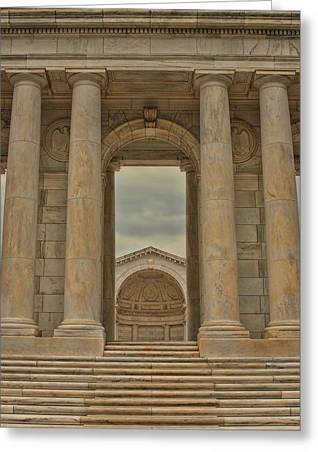 Kim Photographs Greeting Cards - Pillars Greeting Card by Kim Hojnacki