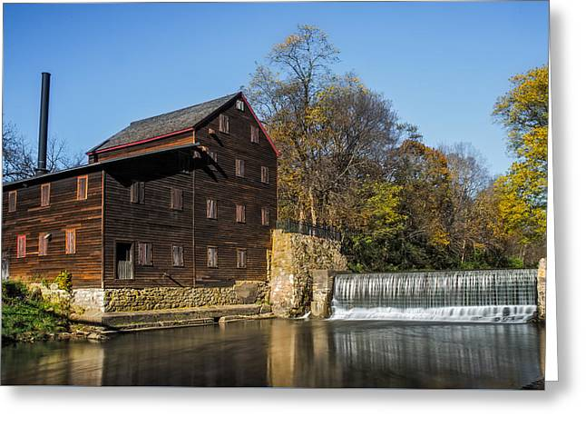 Pine Creek Grist Mill 2 Greeting Card by Paul Freidlund