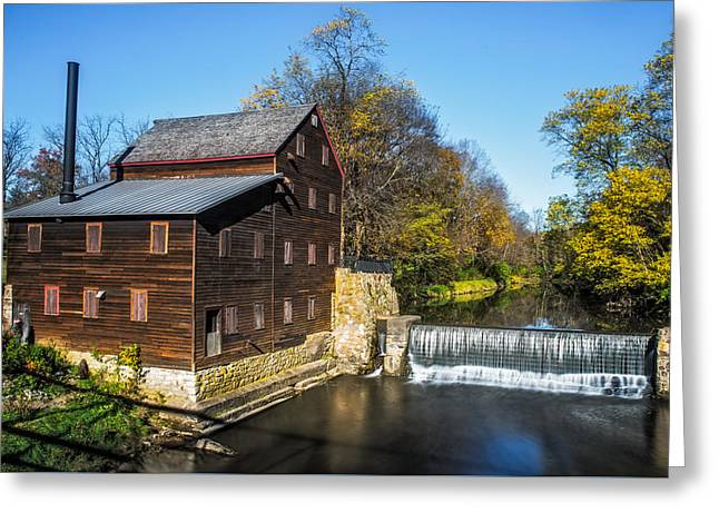 Pine Creek Grist Mill Greeting Card by Paul Freidlund