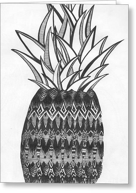 Intense Fruit Greeting Card by Michael Miller