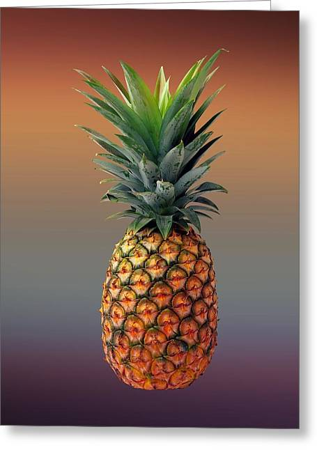 Pineapple Greeting Card by Movie Poster Prints