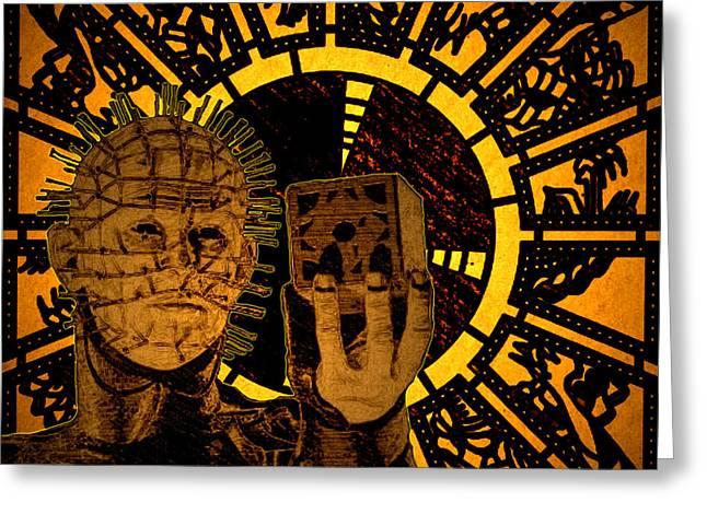 Pinhead Greeting Cards - Pinhead 2 Greeting Card by Brian Dearth