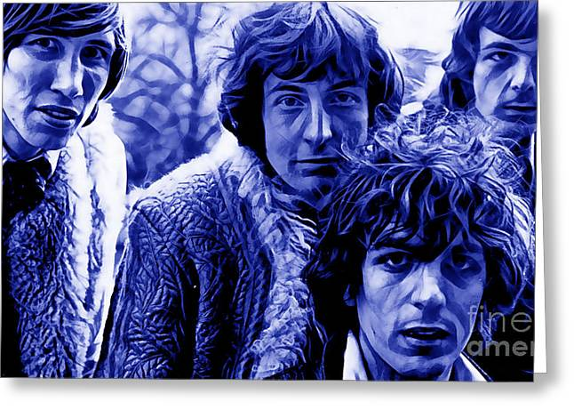 Pink Floyd Greeting Cards - Pink Floyd Collection Greeting Card by Marvin Blaine