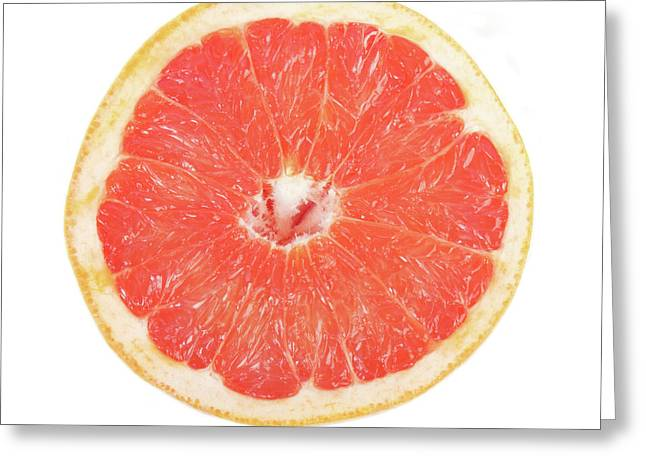 Pink Grapefruit Greeting Card by James BO  Insogna