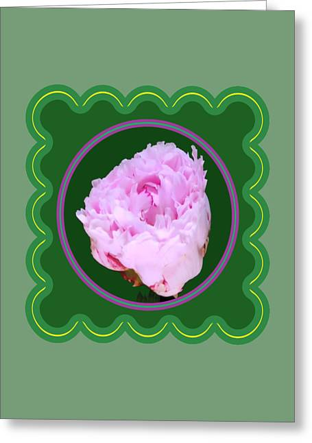 Fineartamerica Greeting Cards - Pink Rose Flower Floral posters photography and graphic fusion art NavinJoshi FineArtAmerica Pixels Greeting Card by Navin Joshi