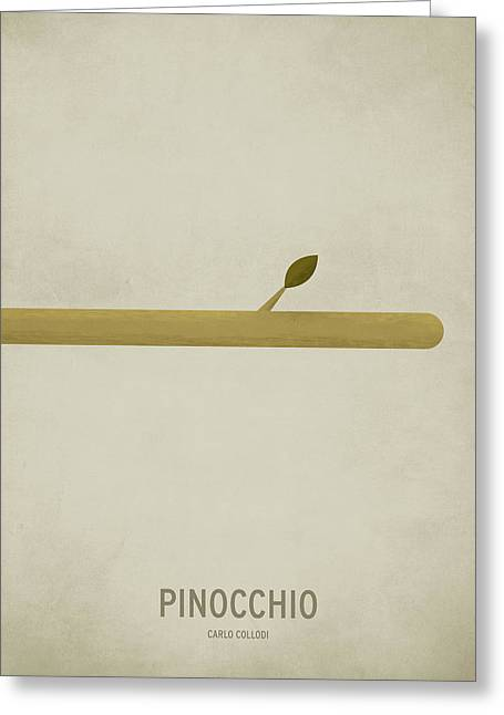 Pinocchio Greeting Card by Christian Jackson