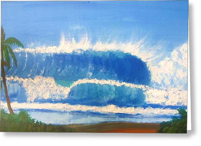 Pipeline Greeting Card by Charles  Jennison