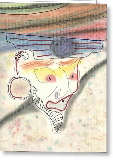 Pirates Greeting Cards - Pirate Smile Greeting Card by David Jacobi