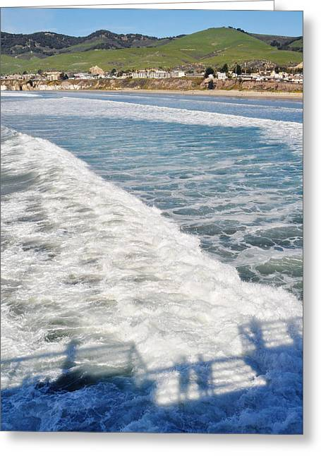 Coast Highway One Greeting Cards - Pismo Beach Pier Greeting Card by Kyle Hanson