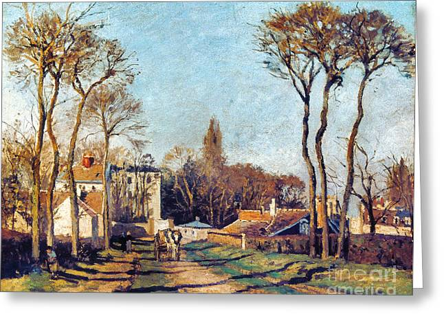 Pissarro: Voisins, 1872 Greeting Card by Granger
