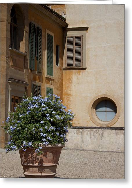 Pitti House Greeting Card by Ivete Basso Photography