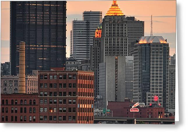 Pittsburgh 15 Greeting Card by Emmanuel Panagiotakis
