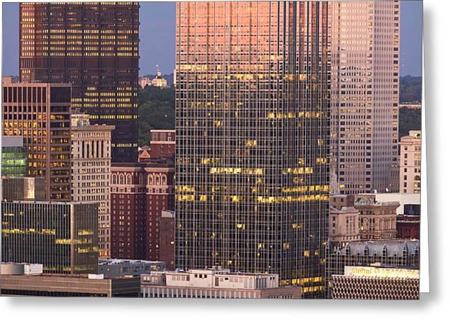 Pittsburgh 19  Greeting Card by Emmanuel Panagiotakis