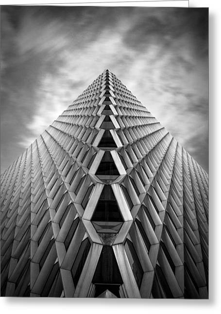 Pittsburgh Architecture  3bw Greeting Card by Emmanuel Panagiotakis
