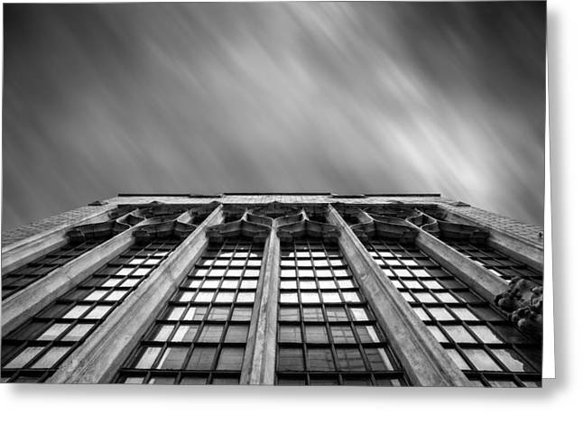 Pnc Park Greeting Cards - Pittsburgh Architecture  4BW Greeting Card by Emmanuel Panagiotakis