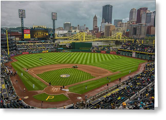 Pittsburgh Pirates Pnc Park 5569 Greeting Card by David Haskett