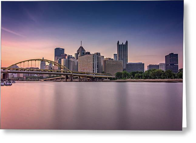 Pittsburgh Greeting Card by Rick Berk