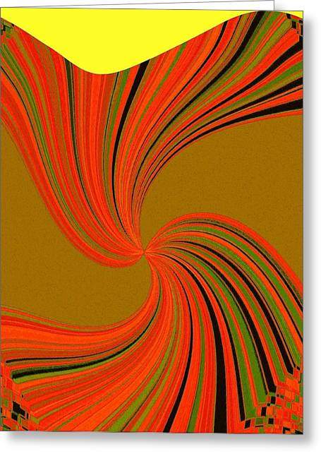 Gusto Greeting Cards - Pizzazz 34 Greeting Card by Will Borden