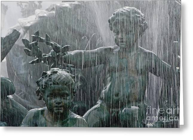 Girondin Greeting Cards - Place des Quinconces - Monument Greeting Card by Wedigo Ferchland