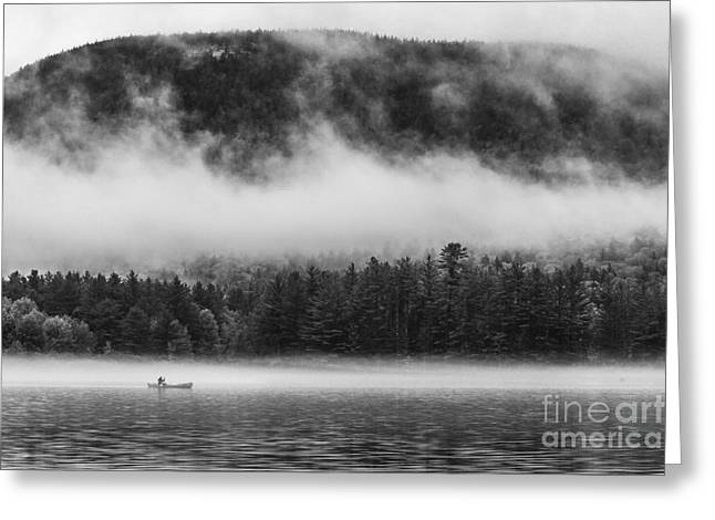 Canoe Greeting Cards - Placidity Greeting Card by David Rucker