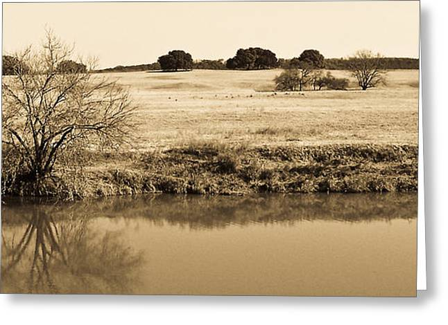 Artistic Photography Greeting Cards - Plains de Brazos Greeting Card by Charles Dobbs