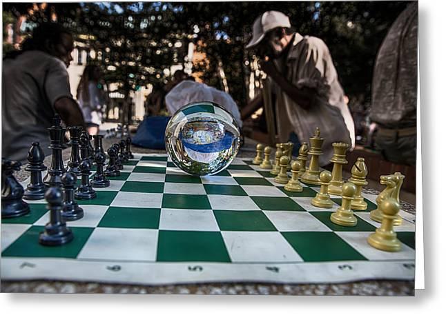 Chess Piece Digital Greeting Cards - Plan Ahead Greeting Card by John Haldane
