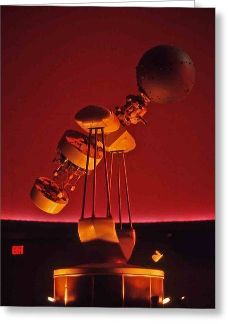 Nashville Tennessee Greeting Cards - Planetarium Star-thrower Greeting Card by Randy Muir