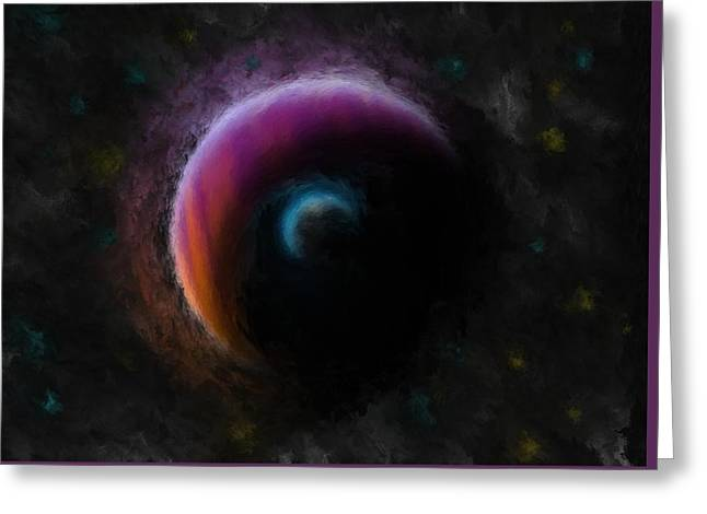 Planetary Greeting Card by Eric Weeber