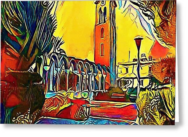 Platz - My Www Vikinek-art.com Greeting Card by Viktor Lebeda