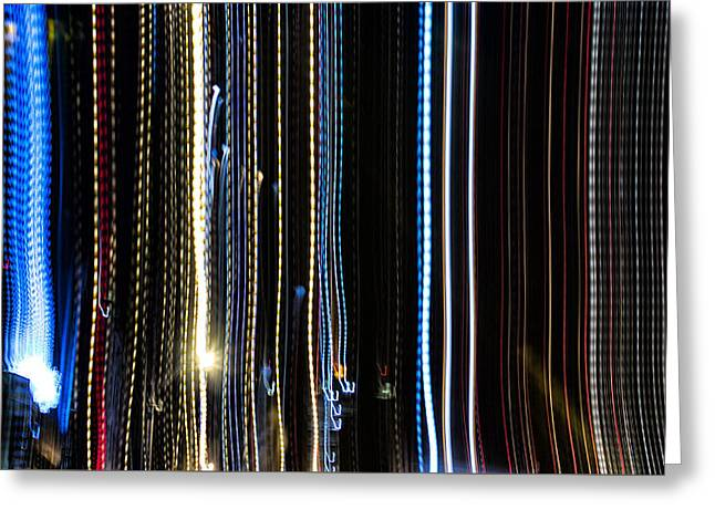 Exposure Greeting Cards - Playing with Light Greeting Card by Zac Lanier