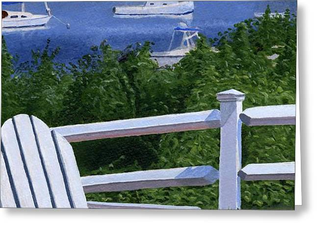 Pleasant Bay Cape Cod Greeting Card by Dominic White