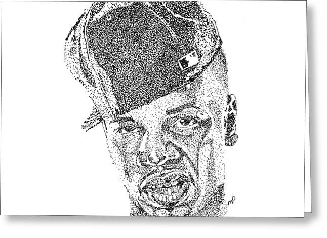 Plies Greeting Card by Marcus Price