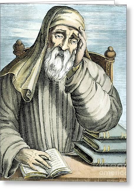 1st Century Greeting Cards - Plutarch (46?-120?) Greeting Card by Granger