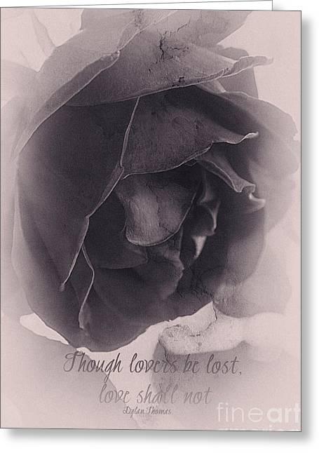 Poetic Greeting Card by Linda Lees