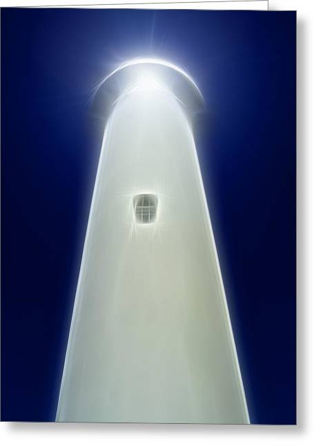 Fundraiser Greeting Cards - Point Arena Lighthouse Greeting Card by Holly Ethan